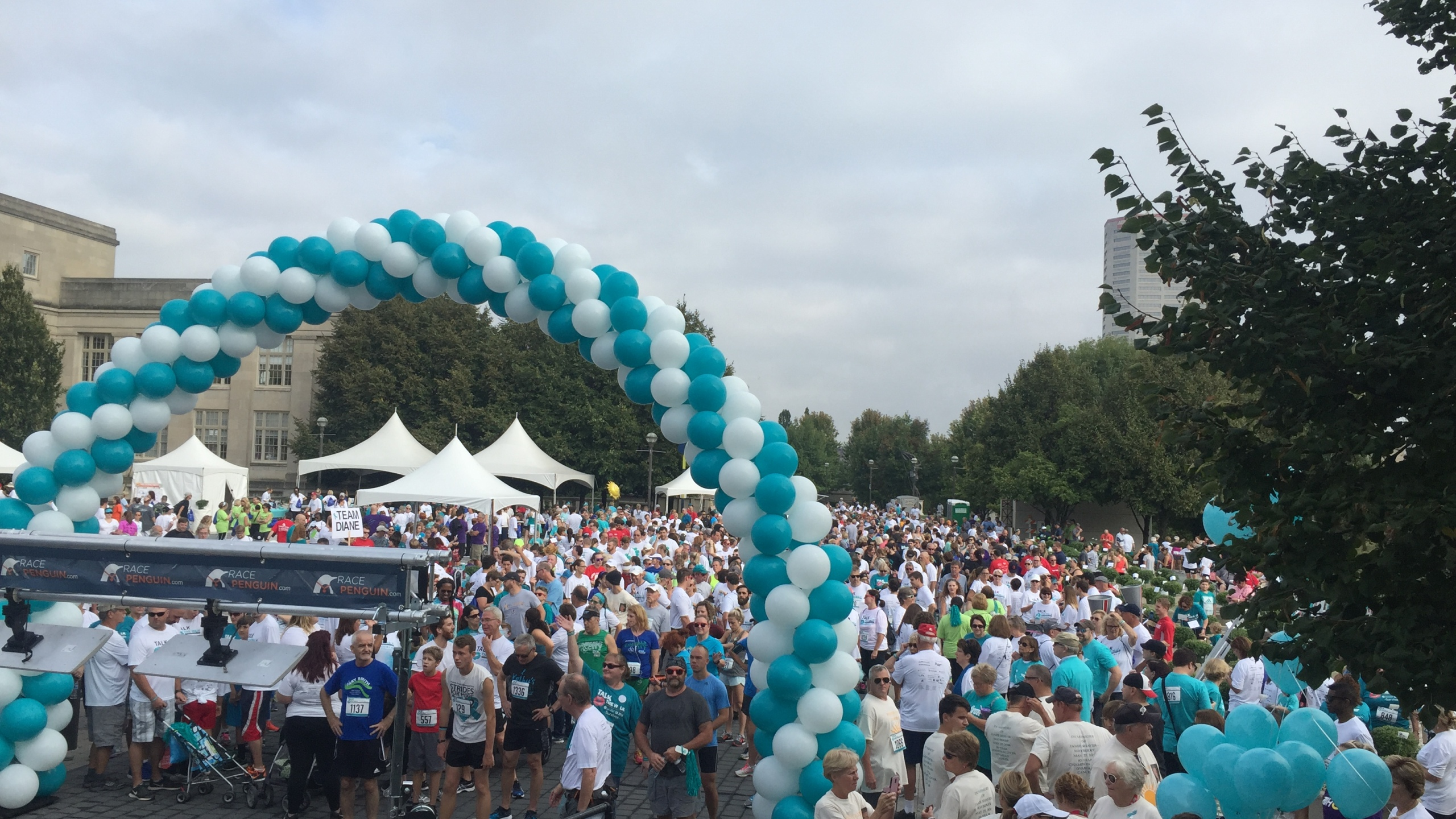 Strides For Hope Brings Thousands Out To Fight Ovarian Cancer