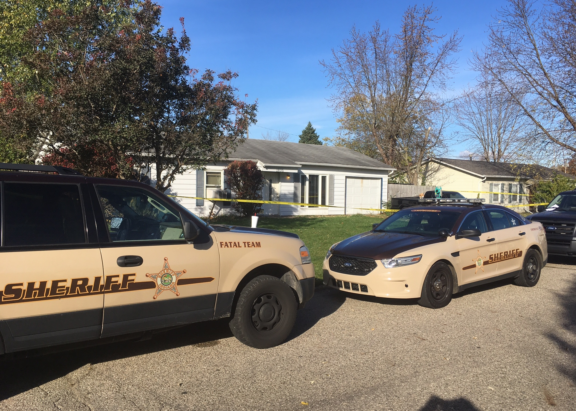The home at 1835 Sue Ave.,Warsaw, where the body of a 2-year-old was found buried in a shallow grave Thursday, Nov. 10, 2016, is shown. (Chad H_219816