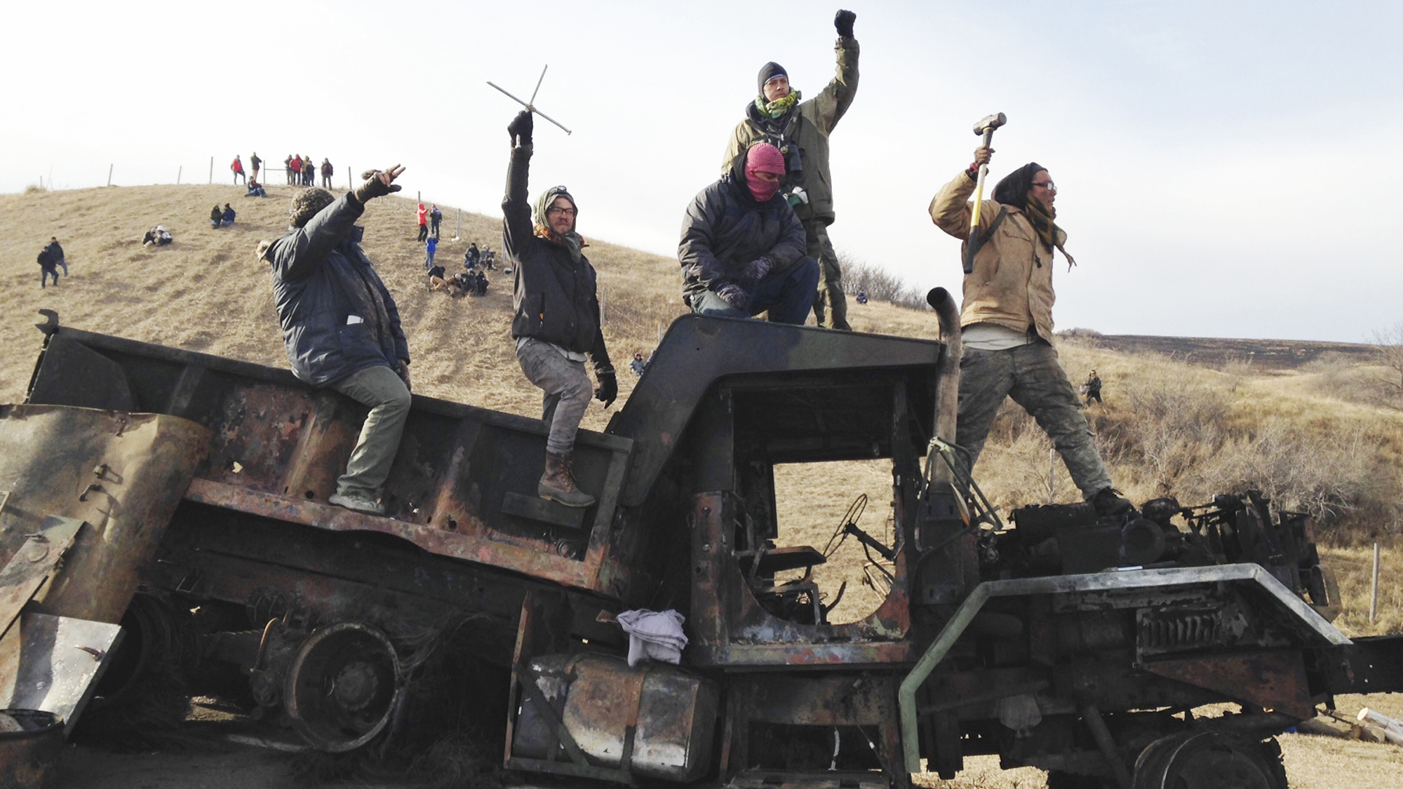 Oil Pipeline Protest_231744