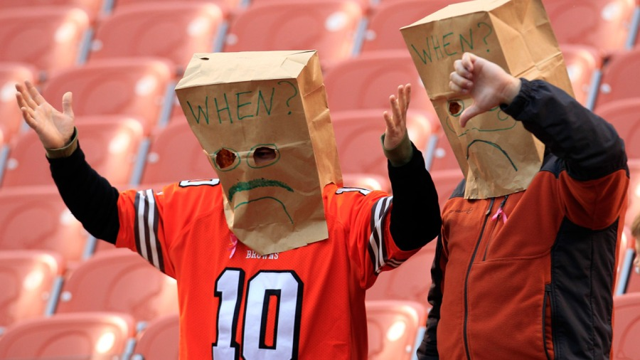 Vegas odds: Cleveland Browns are least likely to win 2018