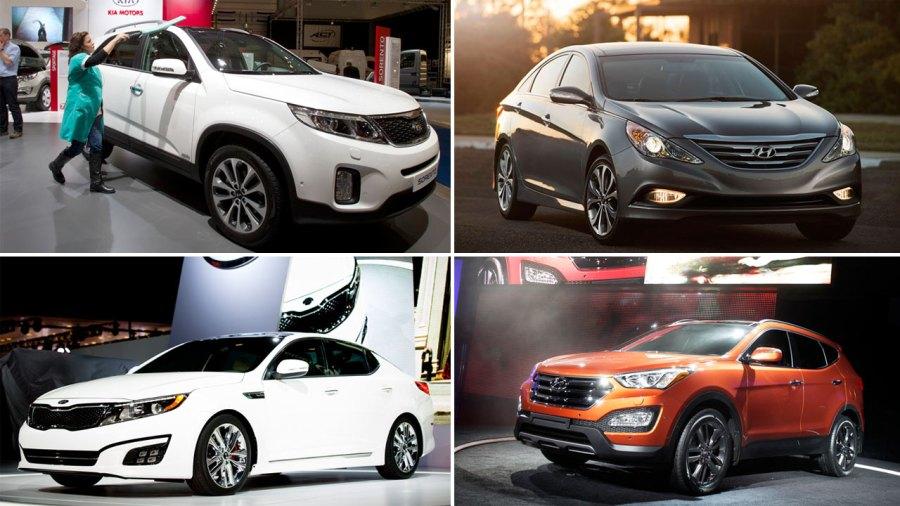 Hyundai and Kia recall 1 2M vehicles for possible engine failure