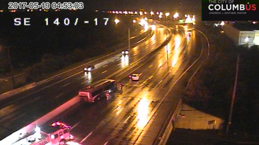 I-70E reopens on the east side after COTA bus crash