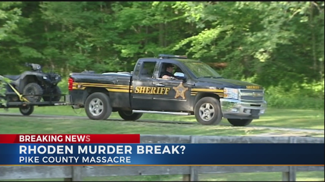Home in Pike Co. searched for evidence in Rhoden murders