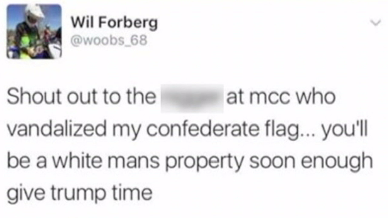 Student's tweet draws outrage at New York community college