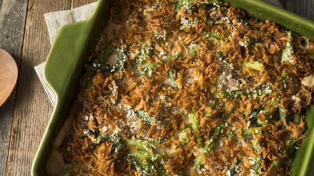 Homemade Green Bean Casserole_365462