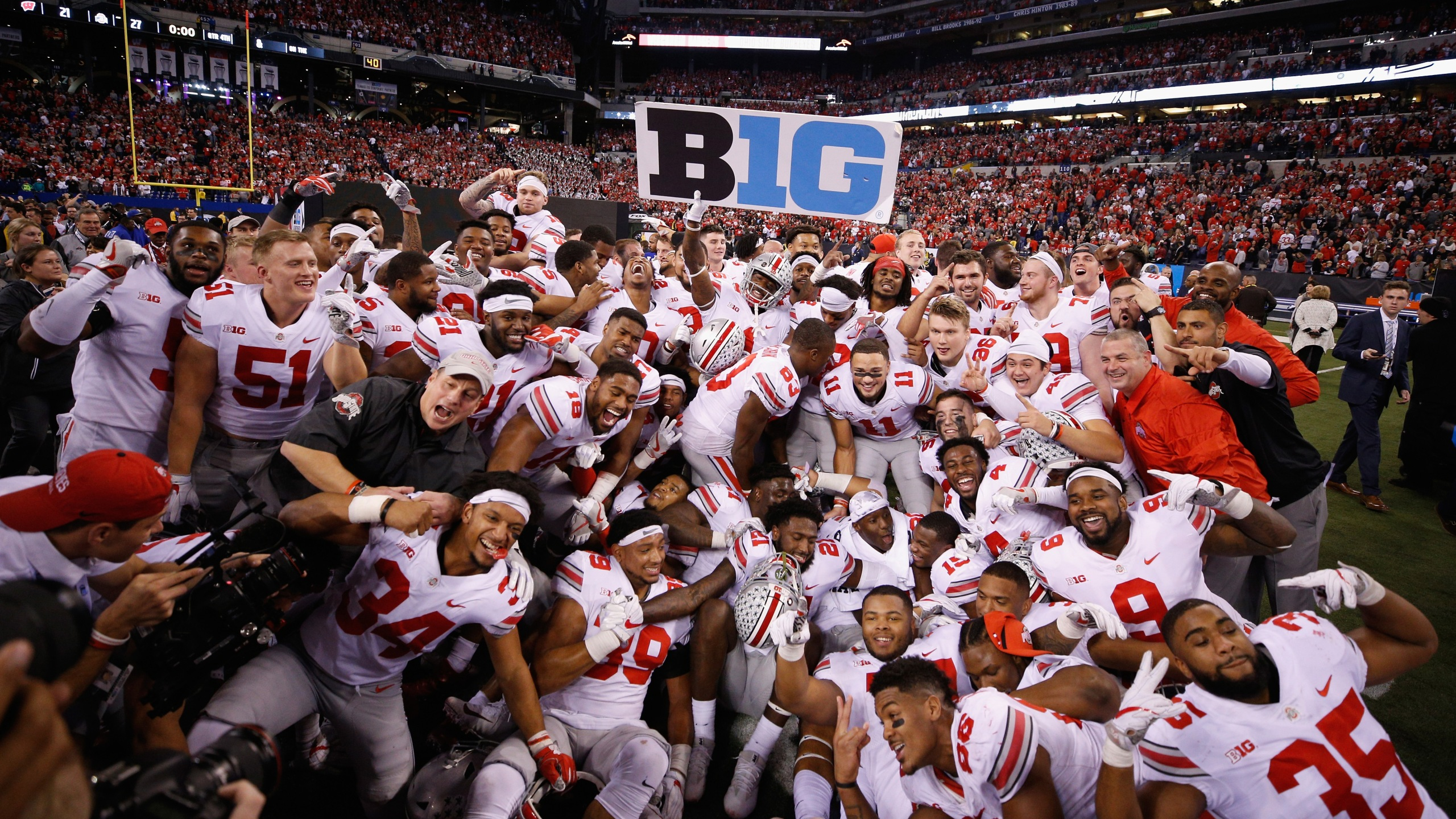 Big Ten Championship - Ohio State v Wisconsin_369439