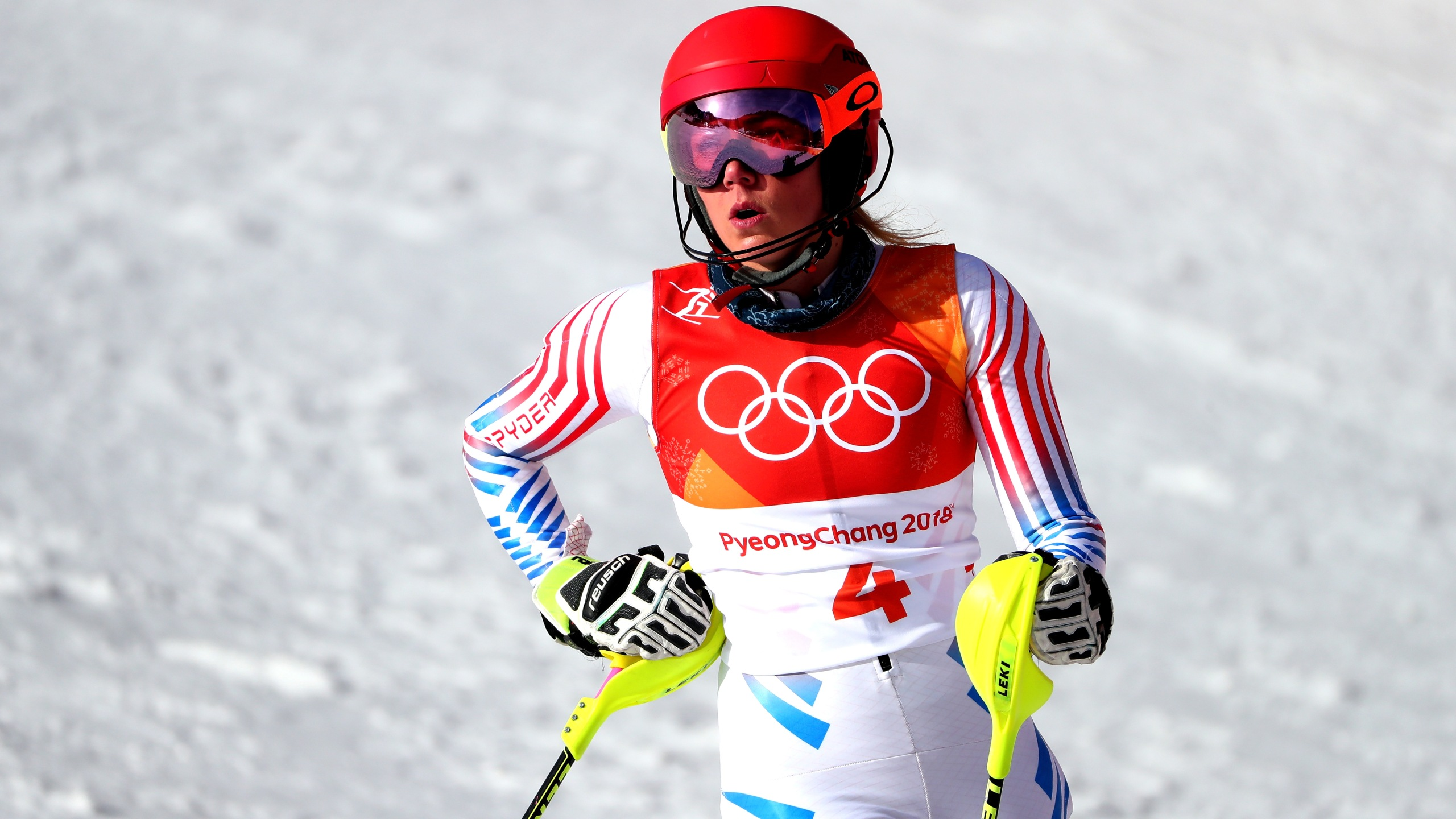 Alpine Skiing - Winter Olympics Day 7_393054