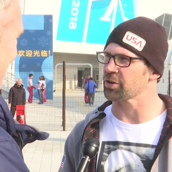 Team USA_s Nick Baumgartner may have just missed the podium in snowboard cross, but he says sharing the experience with his son changed everyth_394881