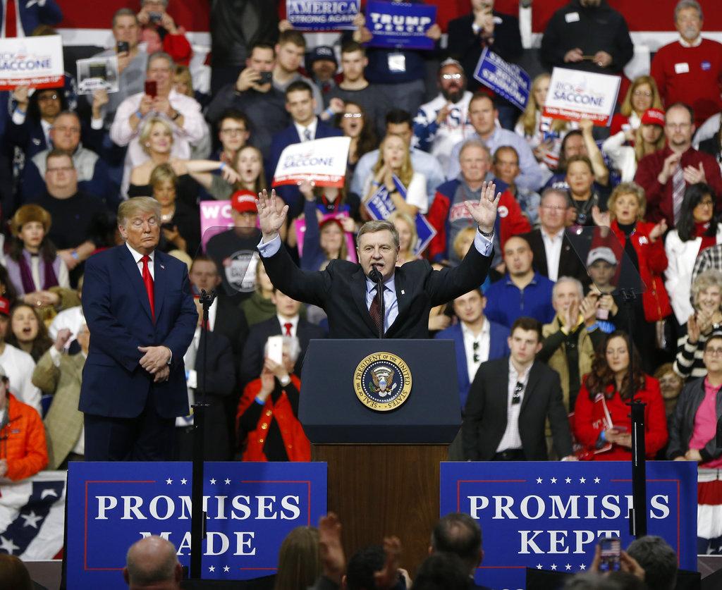 Rick Saccone, Donald Trump_400891