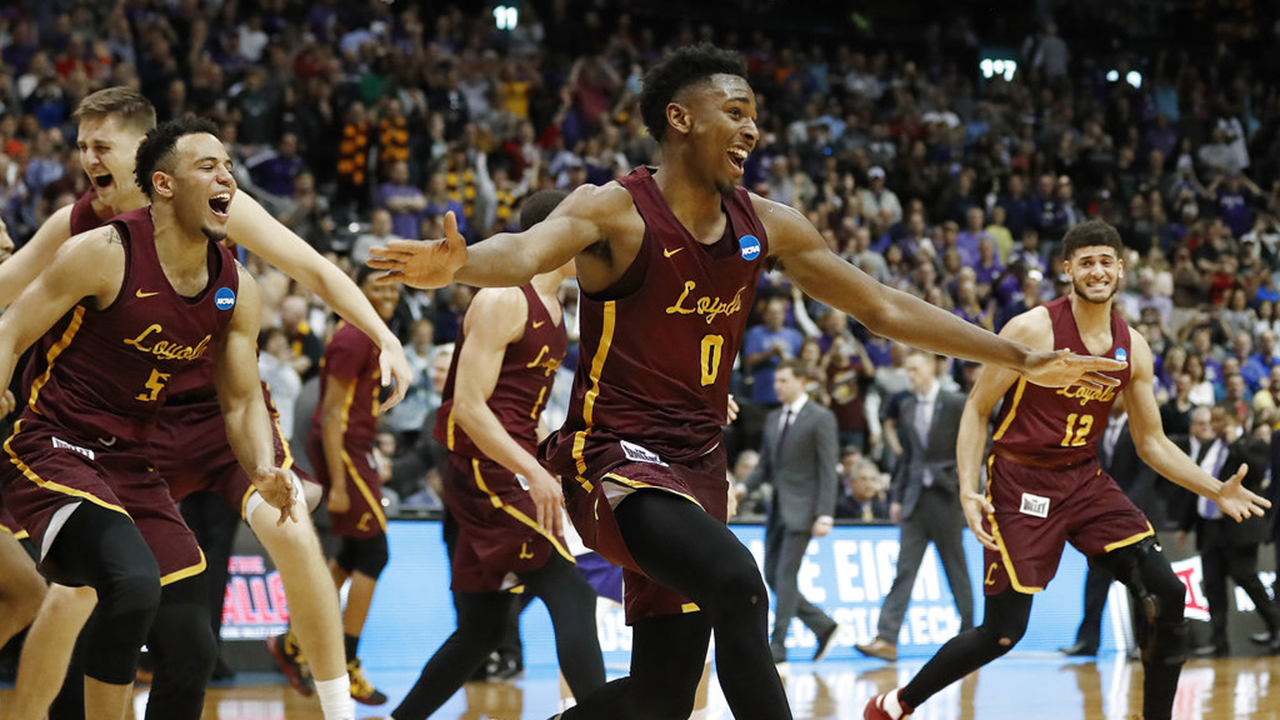 NCAA Loyola Kansas St Basketball_404424