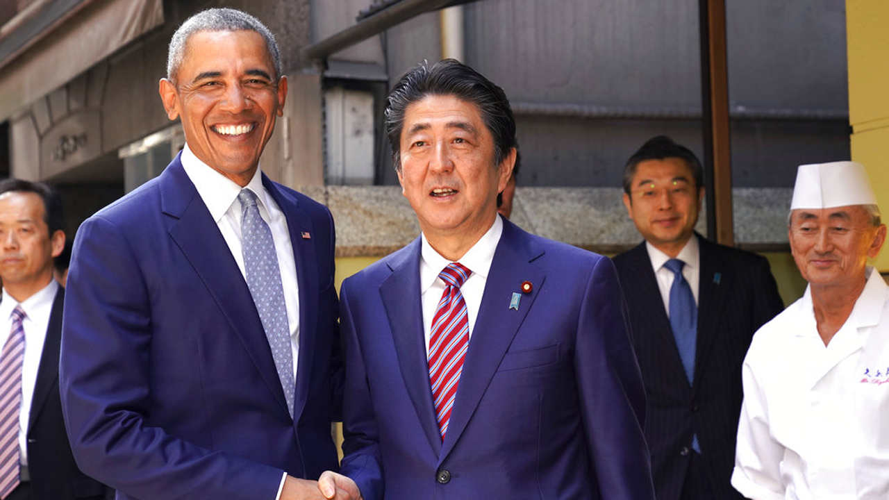 Barack Obama,Shinzo Abe,Yosuke Imada_404431