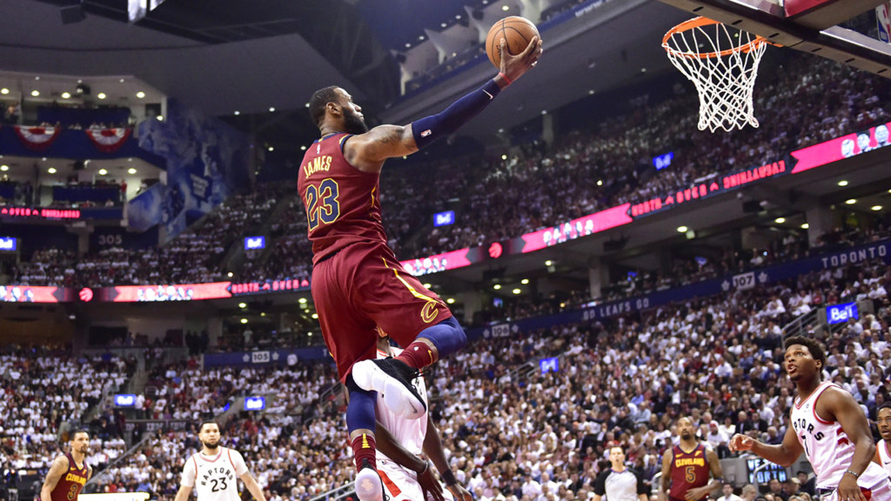Cavaliers Raptors Basketball_1525553316797