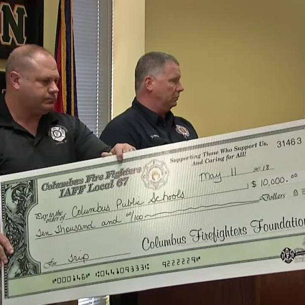 firefighters donation 2
