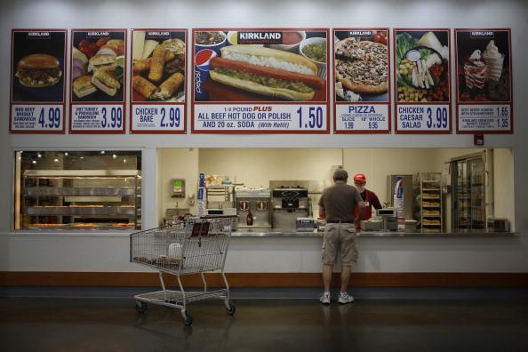 costco food court menu polish dog hot dog-846653543