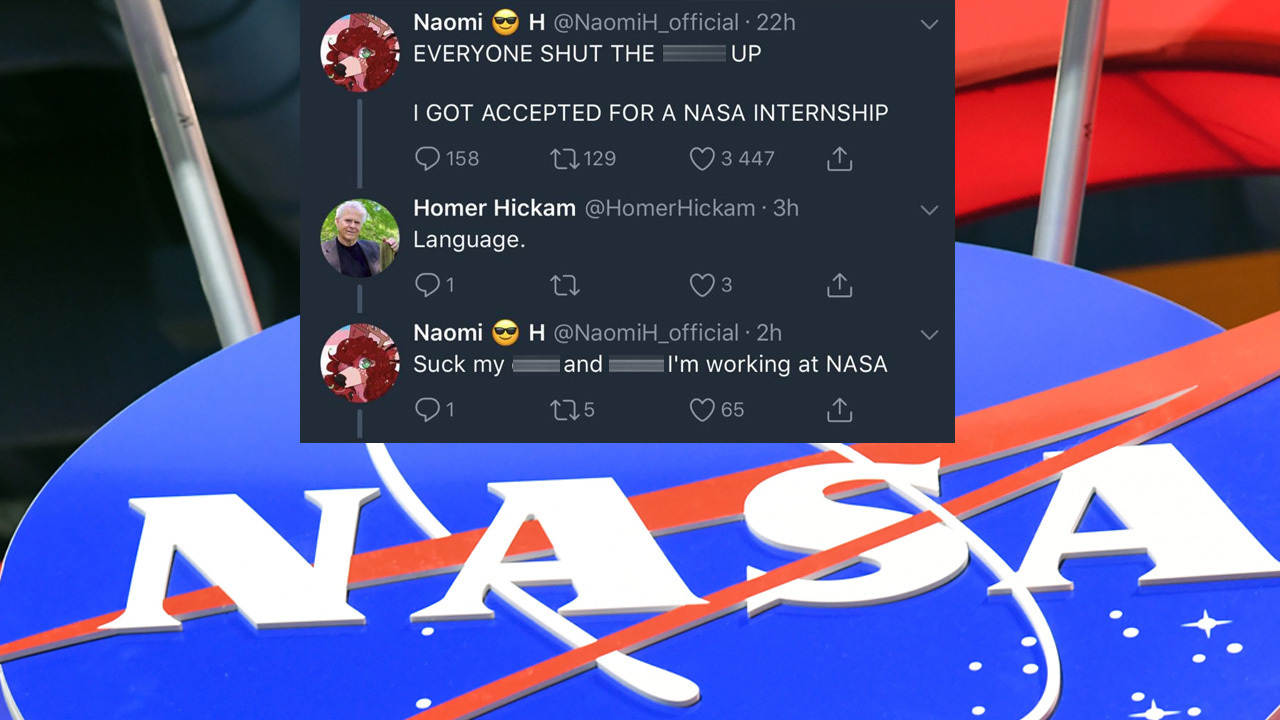 Woman loses NASA internship after Twitter fight with member