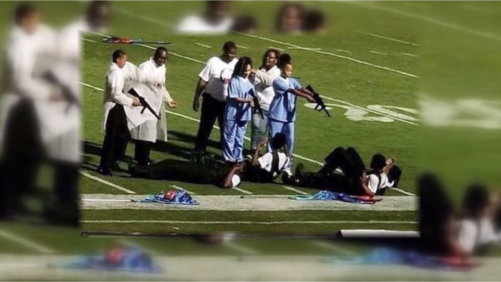 Mississippi high school band director suspended after