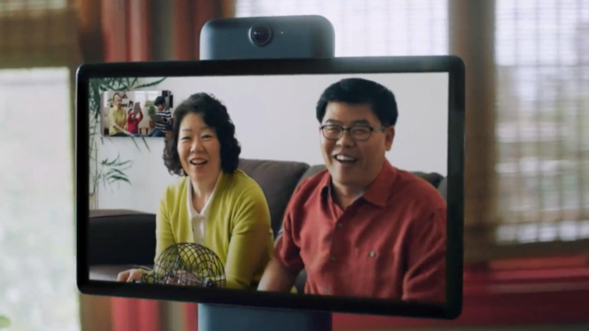 Facebook launches home video chat