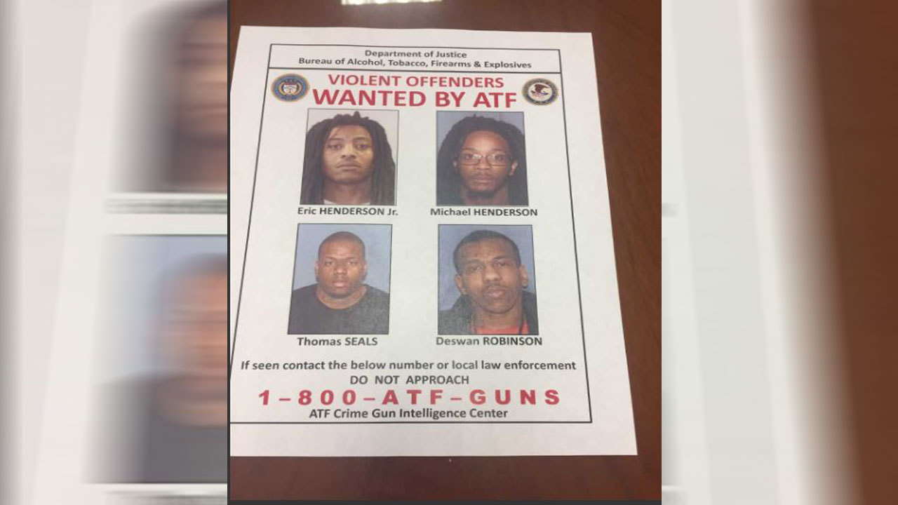 Police arrest 3 of 4 alleged gang members indicted on
