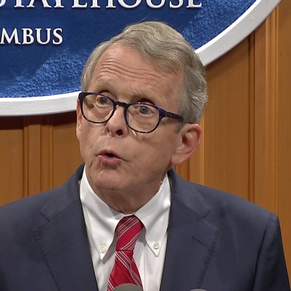 Governor-elect DeWine thanks voters during address at Statehouse