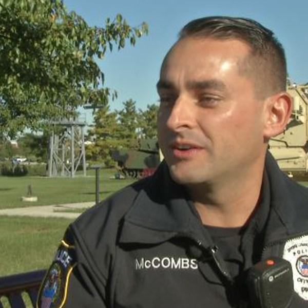 Local veteran honored for saving man's life during Columbus crash