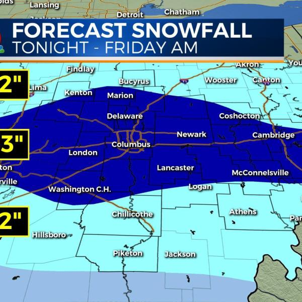 Arctic cold ending, snow returning overnight