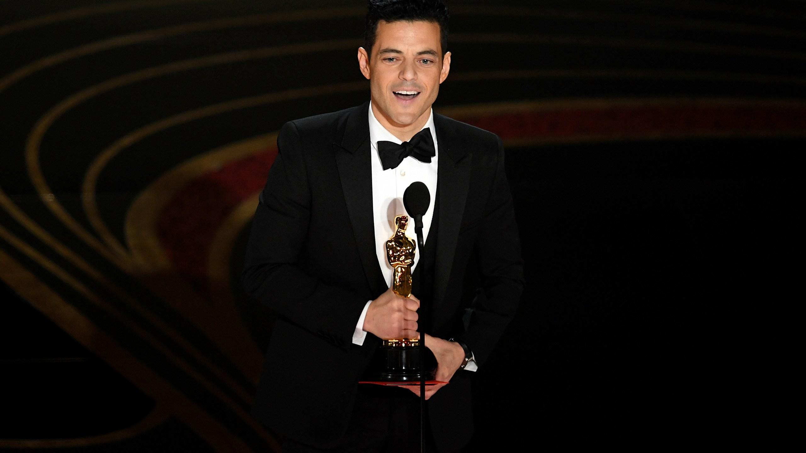 Rami Malek Oscars win
