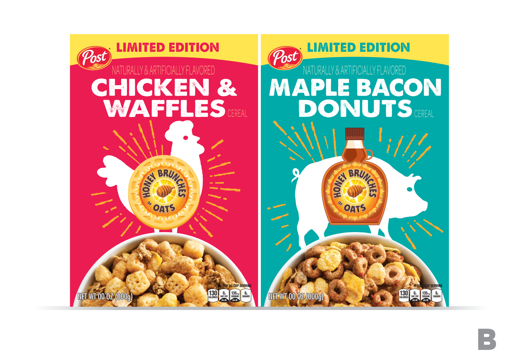 HBO Chicken & Waffles and Maple Bacon Donut flavored cereal-846652698