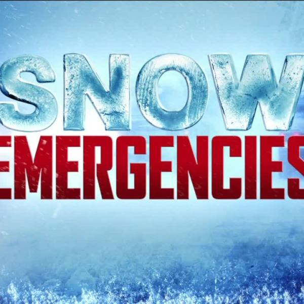 What do snow emergency levels mean?