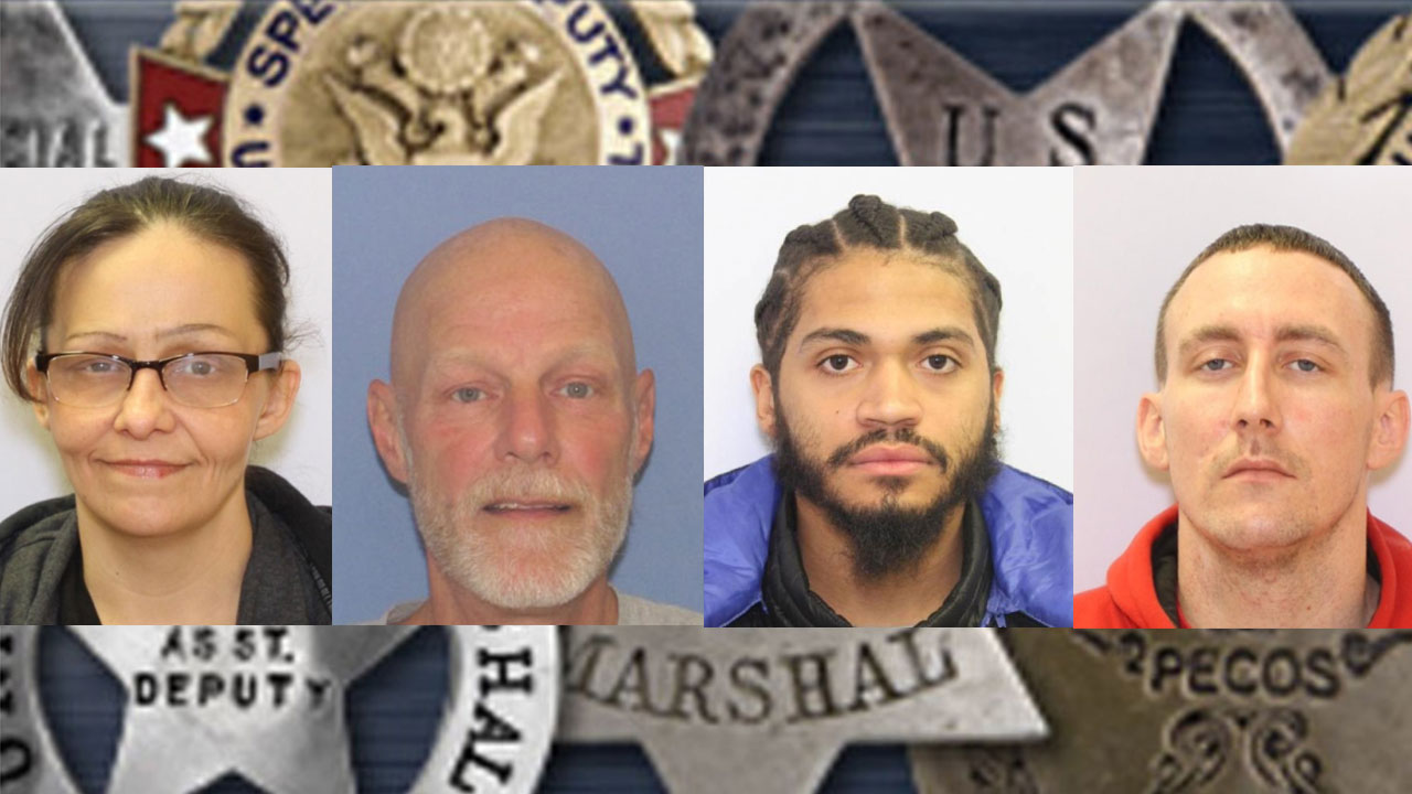 MUGSHOTS: US Marshals announce this week's most-wanted