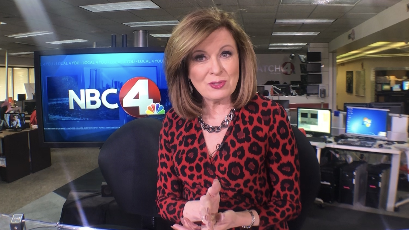 Colleen Marshall Long-time NBC4 employees reflect on WCMH 70th anniversary