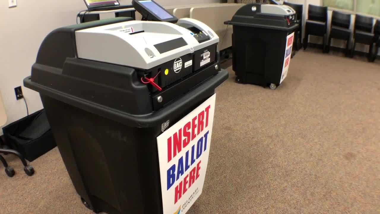 Delaware county board of elections talks about its new voting machine