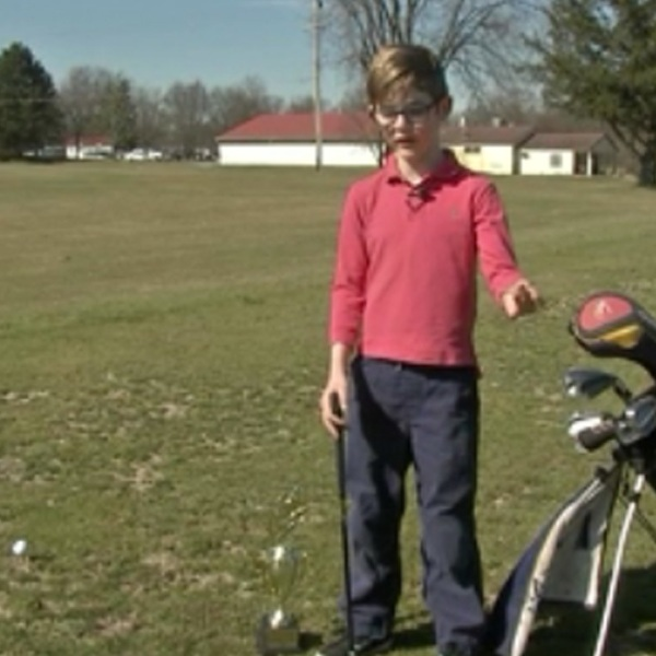 Little Big Shots: Kid inventor creates new golf tee
