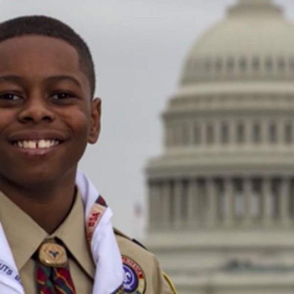 Little Big Shots: Local scout visits the White House