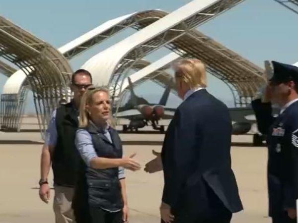 President Trump offers rare praise to Mexico