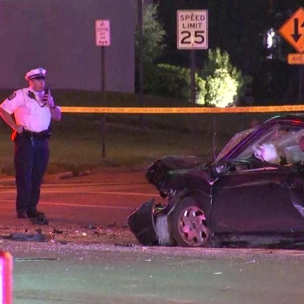 E. Livingston crash leaves one dead, two injured