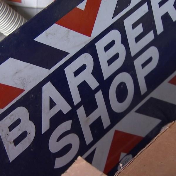Storms destroy 49-year-old barbershop landmark