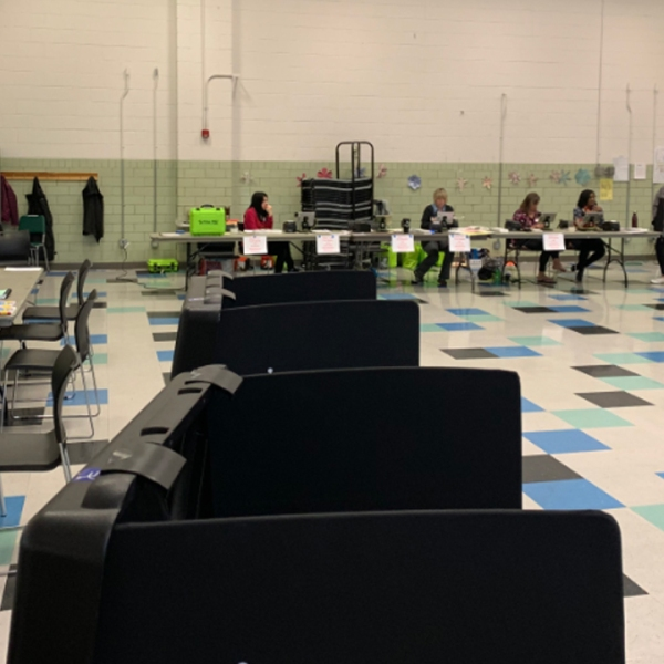 Technology issue delays voting at Whetstone Recreation Center