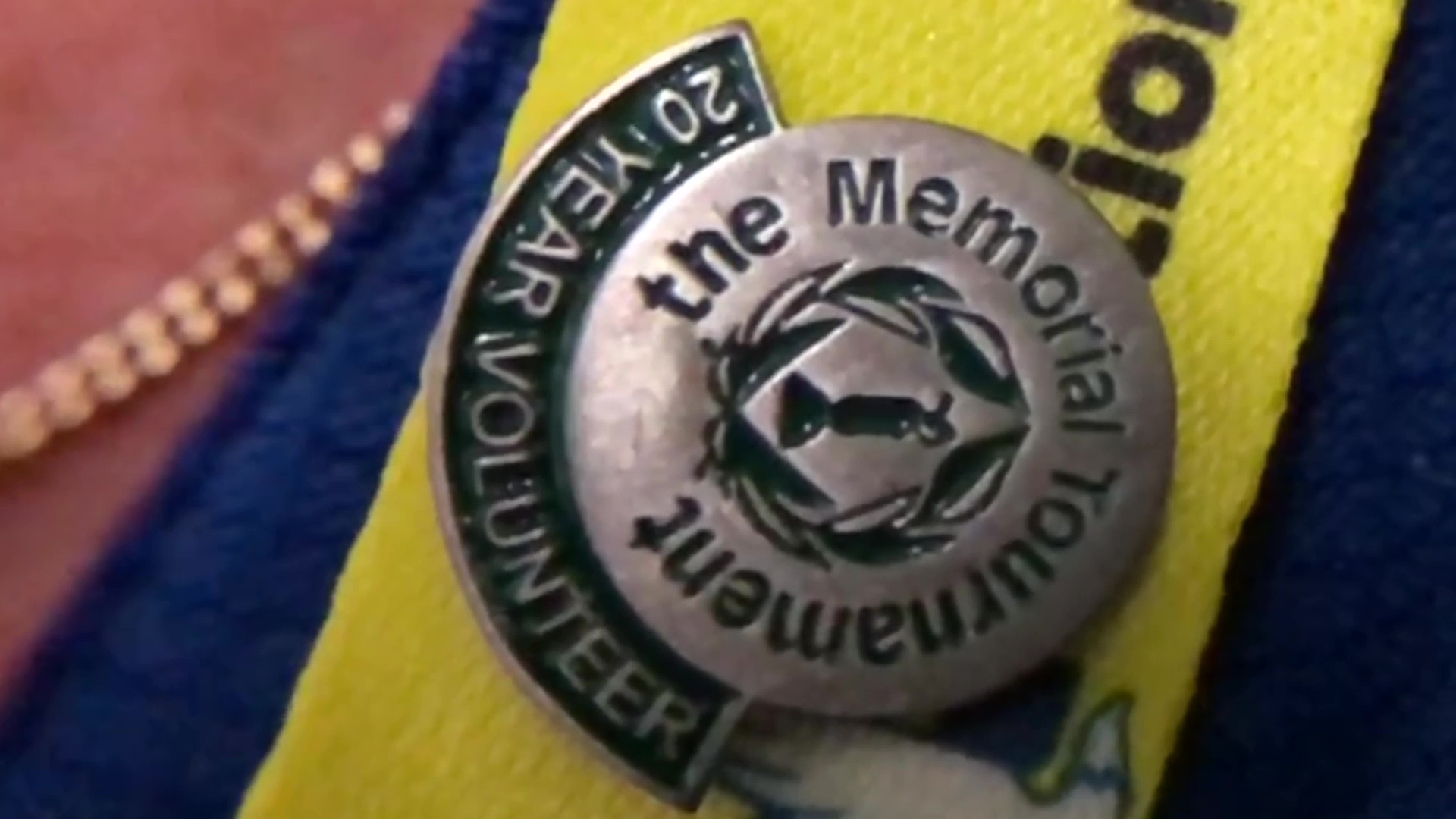 Why people volunteer at the Memorial Golf Tournament
