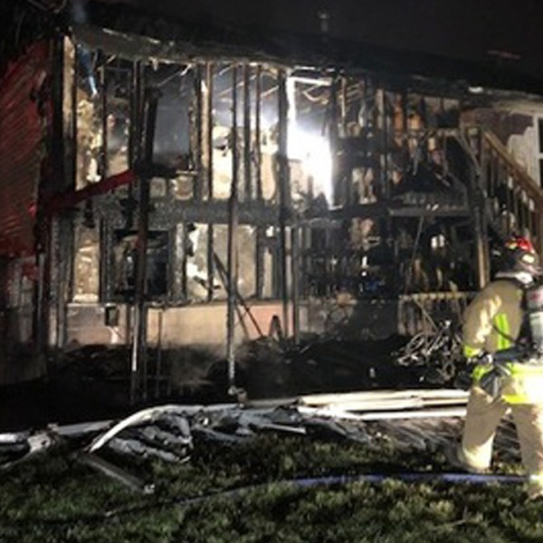 Family escapes morning house fire