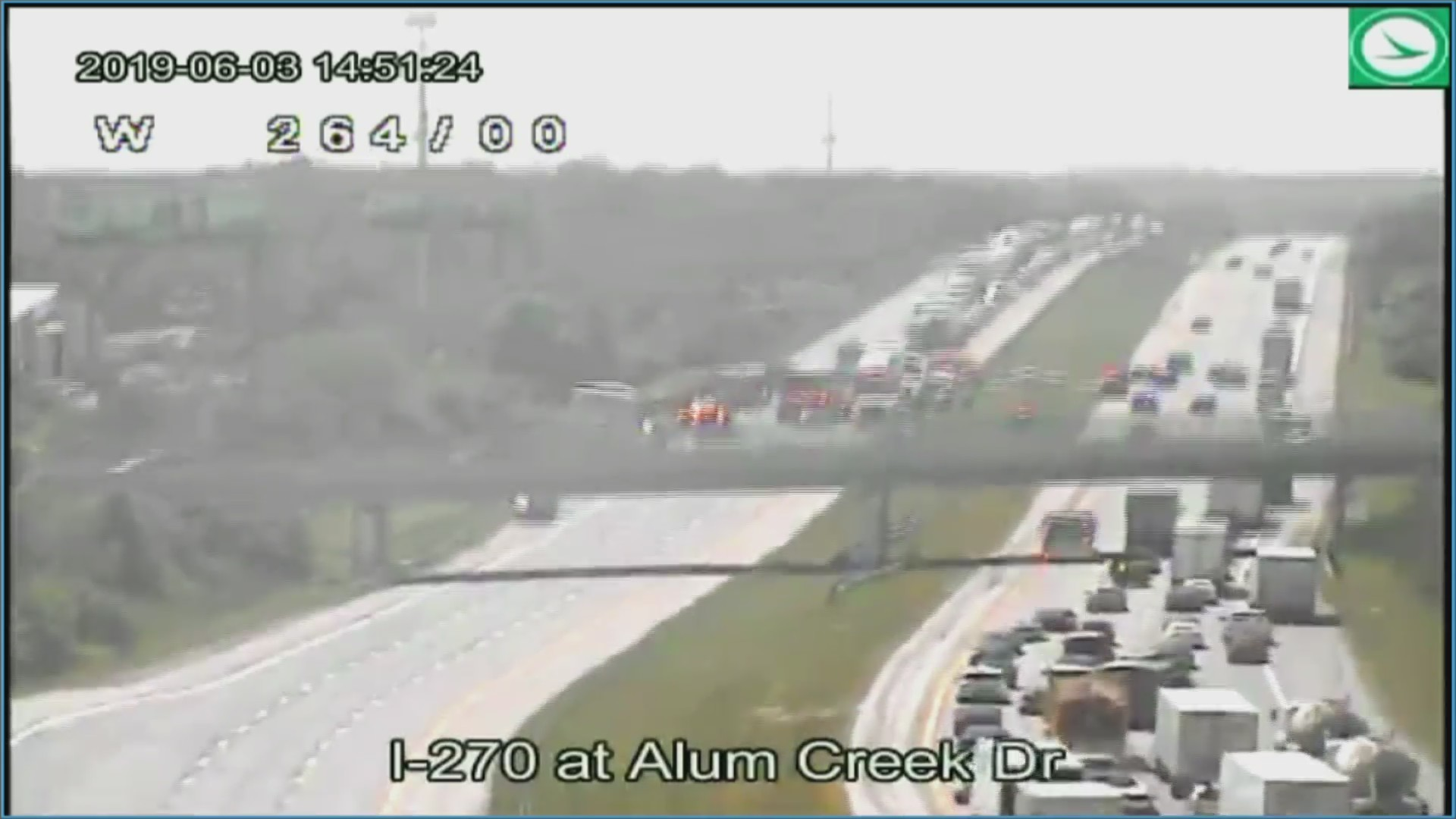 I-270 reopens between I-71 and Alum Creek Drive after fatal crash