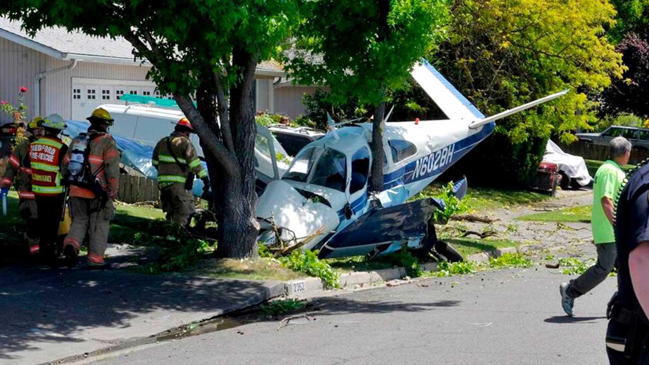 Pilot, passenger injured in Oregon small airplane crash