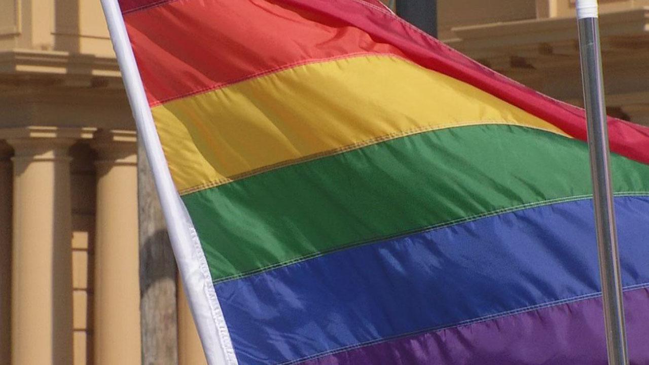 GAY PRIDE PARADE FLAG_322096