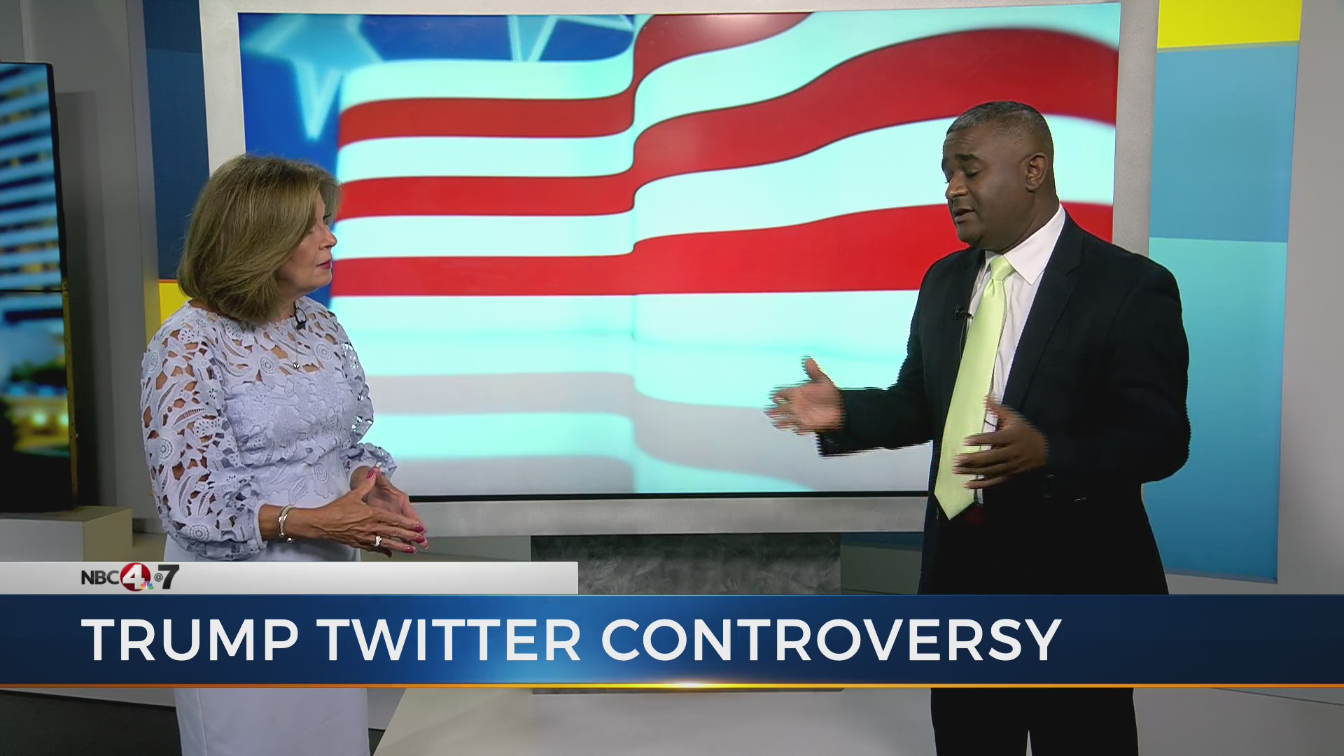 ANALYSIS: Trump tweets racist, un-American, says former