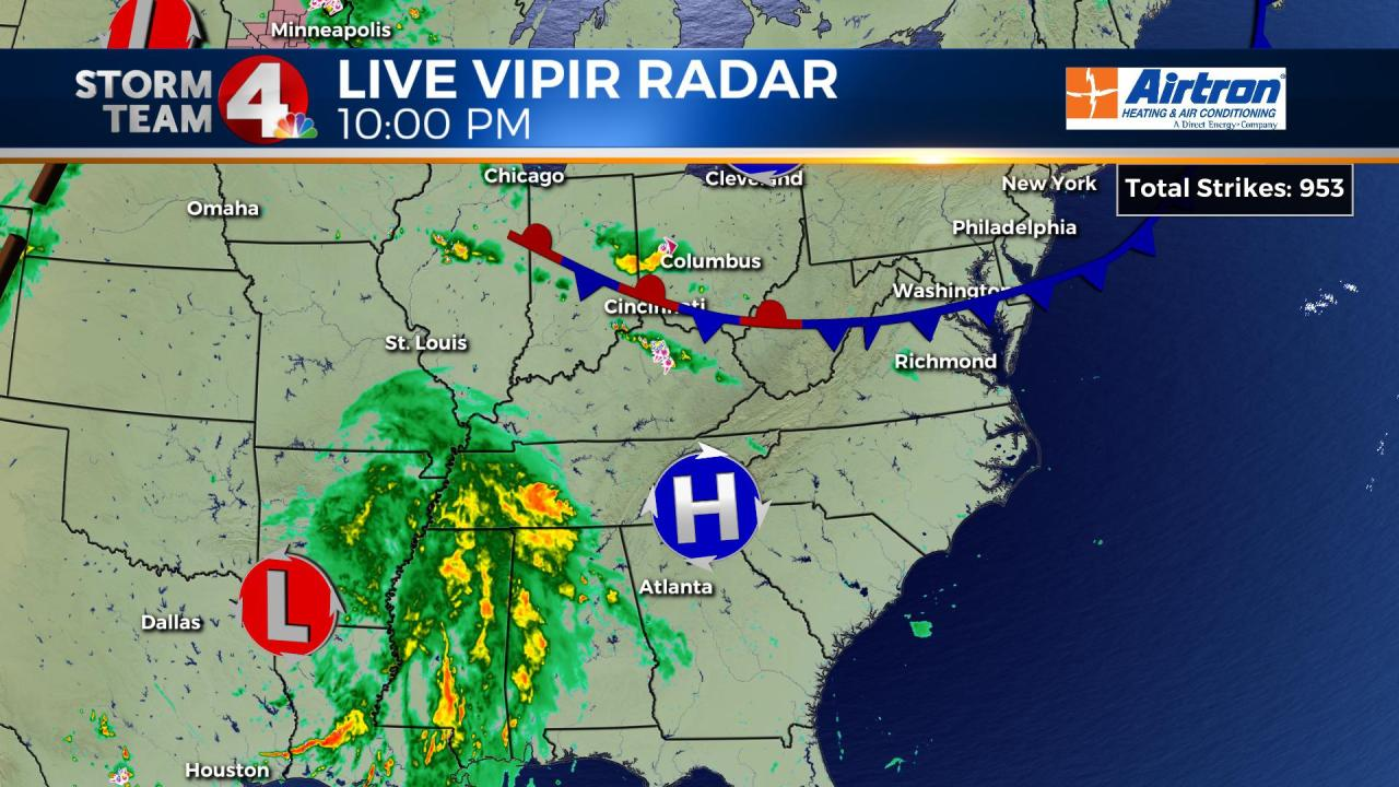 Remnants Of Barry Expected To Bring Rain To Central Ohio