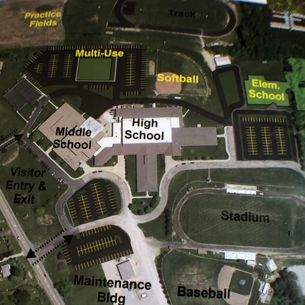 Northridge Local School District Property Layout