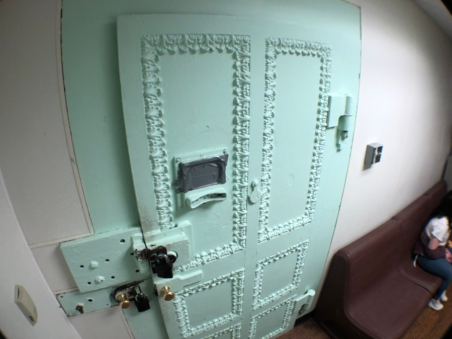 Original Jail Door