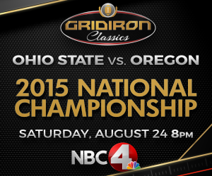 click here for more information on the gridiron classic airing on NBC4 Saturday night at 8 pm