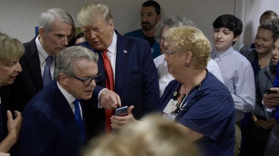 President Trump visits Dayton after mass shootings | NBC4