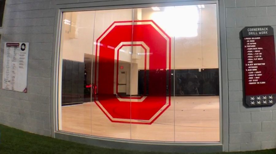 OSU Basketball court for football players