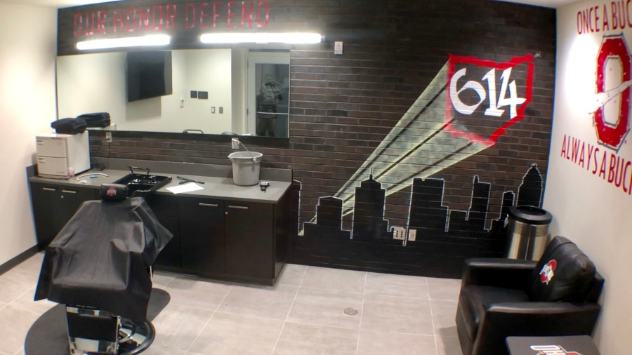 Barber Shot at Woody Hayes Athletic Center